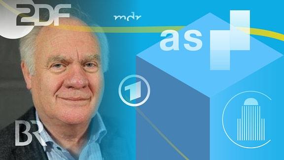 Prof. Wolfhard Kohte und Logos von Medienanstalten.