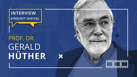 Porträt von Prof. Dr. Gerald Hüther