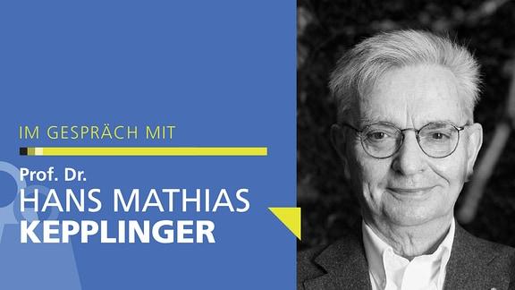Porträt von Hans Mathias Kepplinger
