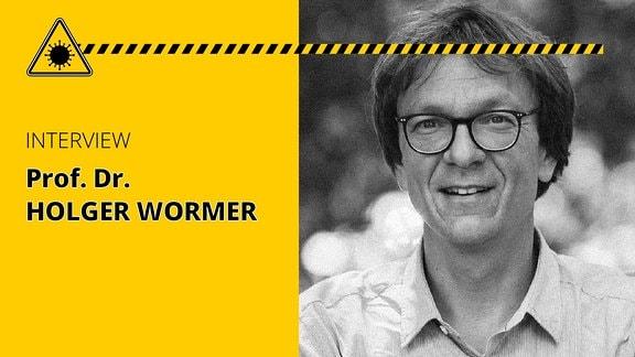 Porträt von Prof. Dr. Holger Wormer