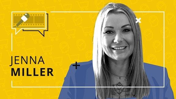 Porträt der Friseurmeisterin und Influencerin Jenna Miller.
