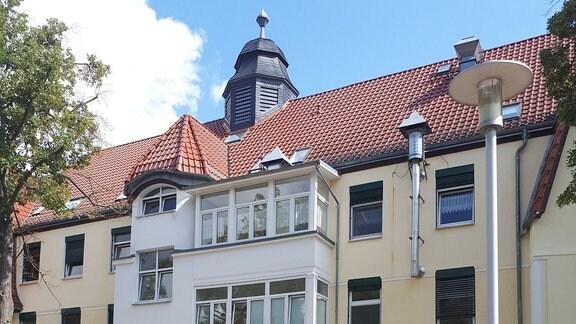 Gebäude des Asklepios Fachklinikums Wiesen