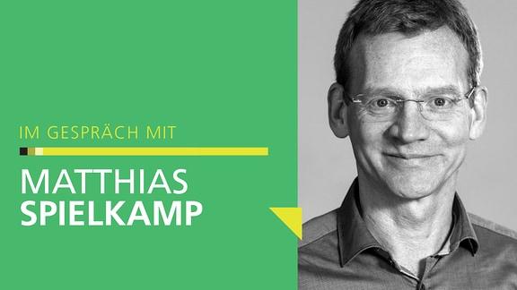 Porträt von Matthias Spielkamp