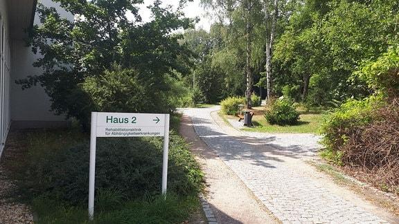 Park im Asklepios Fachklinikum Wiesen