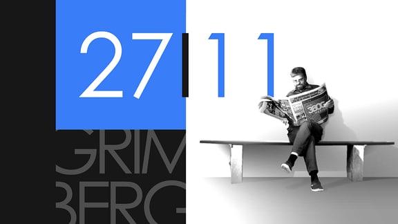 """Teaserbild für GRIMBERG – Die Kolumne am 27. November 2018: Schriftzug """"27/11""""."""