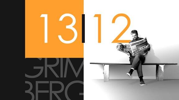 """Teaserbild für GRIMBERG – Die Kolumne am 13. Dezember 2018: Schriftzug """"13/12""""."""