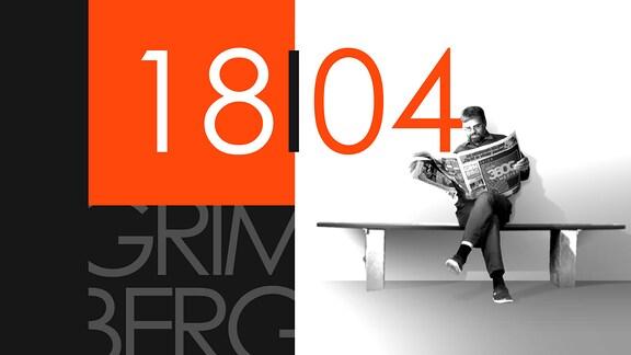 """Teaserbild für GRIMBERG – Die Kolumne am 18. April 2019: Schriftzug """"18/04""""."""