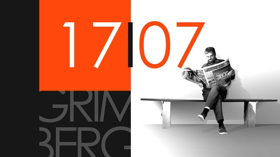 """Teaserbild für GRIMBERG – Die Kolumne am 17. Juli 2019: Schriftzug """"17/07""""."""