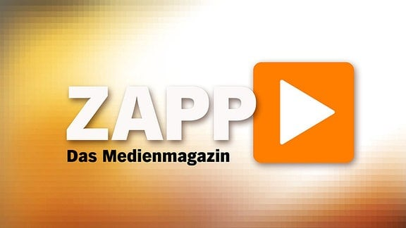 """Das Logo des Medienmagazins """"ZAPP"""" vom NDR."""