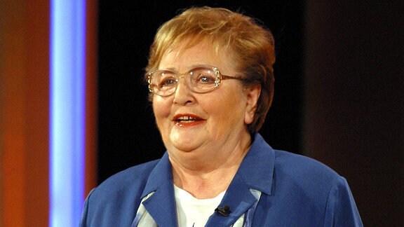 Die Komikerin Leni Statz