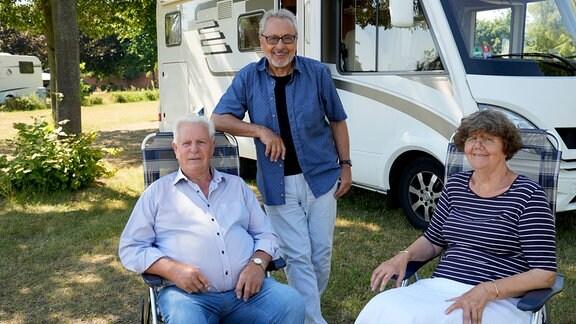 Ein eigener Camping-Platz, das war immer der Traum von Renate und Gerhard Schult. 2000 wurde er in Lutherstadt Wittenberg (Sachsen-Anhalt) direkt am Elbufer wahr. Seitdem sind Hoch- und Niedrigwasser ihre ständigen Begleiter.