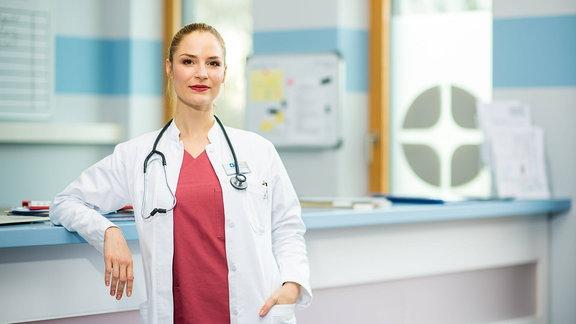 """Mirka Pigulla, Schauspielerin aus """"In aller Freundschaft - Die Jungen Ärzte"""""""