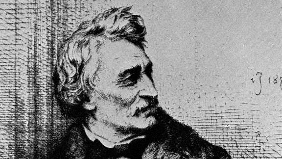 Portrait von Gottfried Semper (1803-1897)