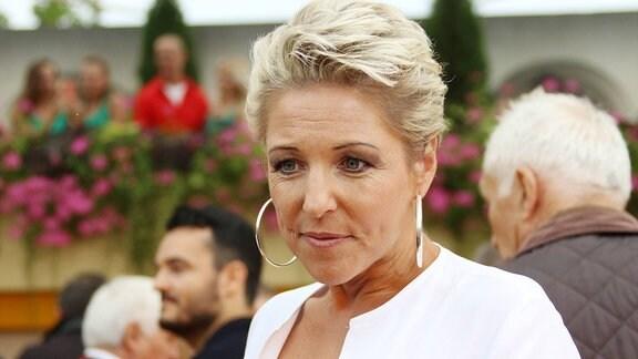 Alexandra Hofmann in der ARD-TV-Sendung Immer wieder sonntags