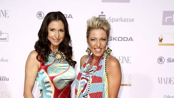 Anita & Alexandra Hofmann bei der 23. Verleihung der Goldenen Henne 2017
