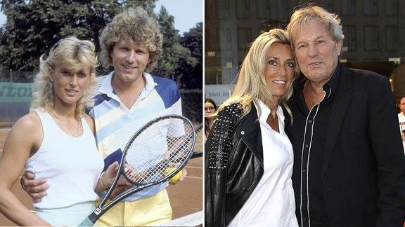 Bernhard Brink und Ute Clemens, 1985 und 2018