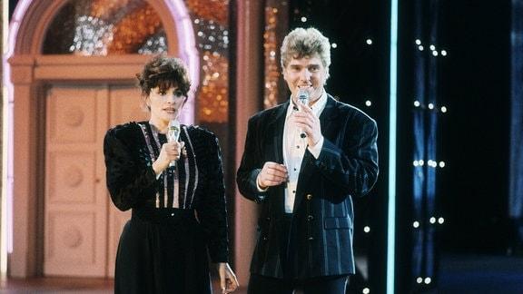 Frank Schöbel mit Ehefrau Aurora Lacasa