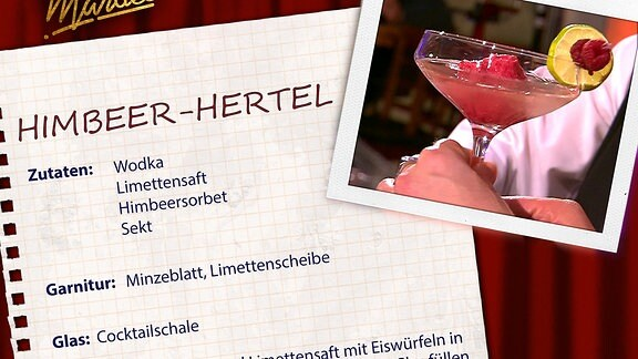 Cocktail: Himbeer-Hertel