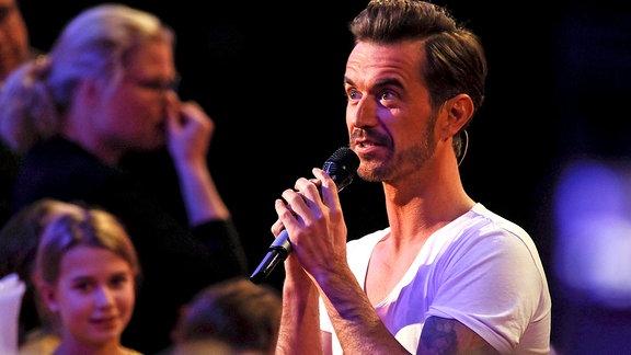 Florian Silbereisen, singend