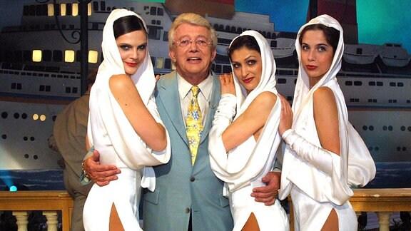 Dieter Thomas Heck mit dem MDR TV Ballett, 2002