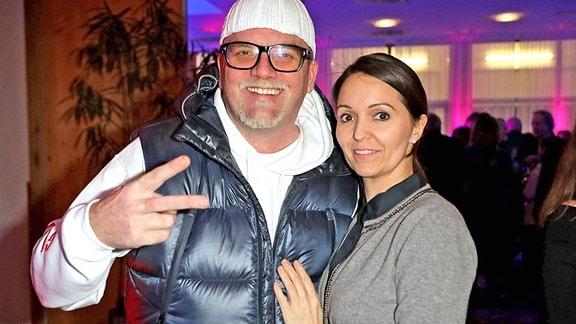 DJ Ötzi und Sonja Friedle