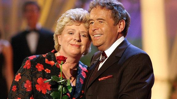 Sänger Eberhard Hertel und Ehefrau Elisabeth