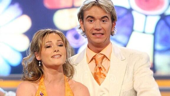 Helene Fischer und Florian Silbereisen, 2005
