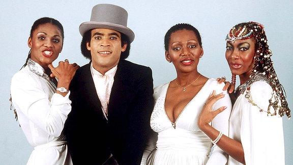Die Band Boney M., 1981