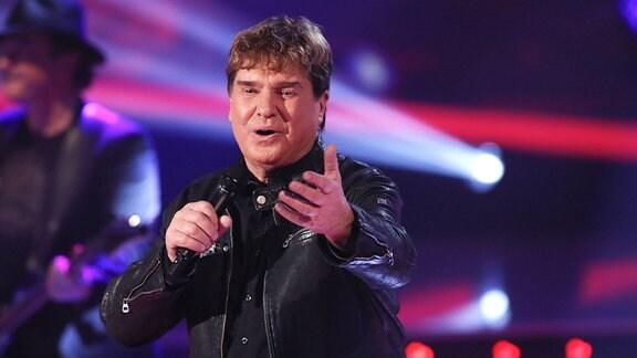 Frank Schöbel in der TV-Show Die Schlager des Jahres