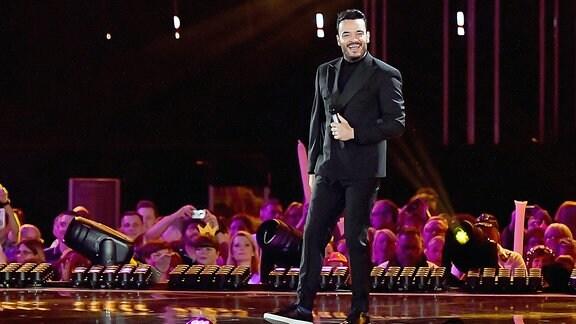 Giovanni Zarrella bei der ARD Live TV-Show Schlagerchampions Das grosse Fest der Besten im Velodrom in Berlin.