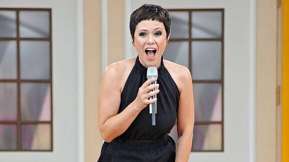 Sängerin Francine Jordi