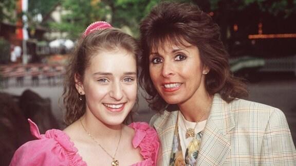 Stefanie Hertel und Ireen Sheer, 1994