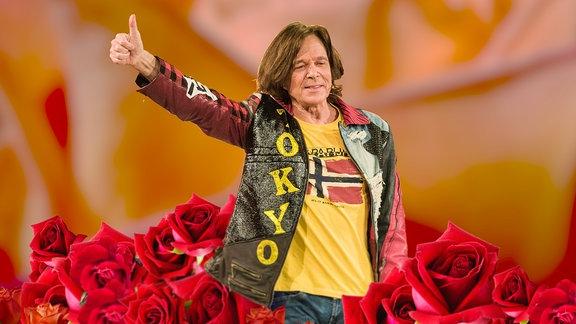 Collage - Jürgen Drews auf Roten Rosen