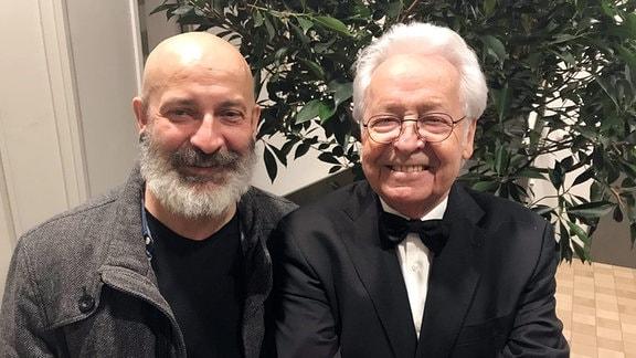 Jürgen Walter mit Holger-Ralf Ehrhardt