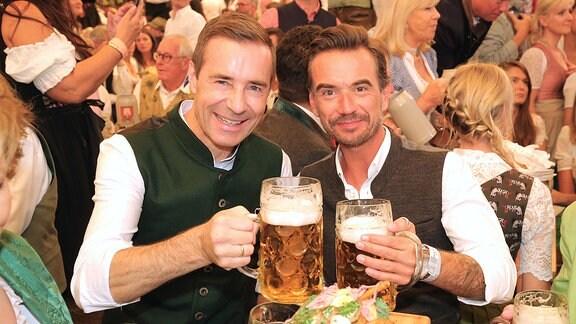 Kai Pflaume und Florian Silbereisen