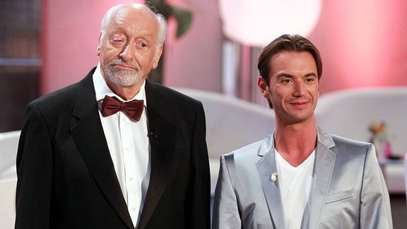 Karl Dall und Florian Silbereisen