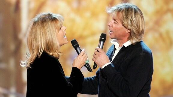 Sänger Hansi Hinterseer und Sängerin Lena Valaitis, 2010