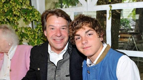 Patrick Lindner mit Sohn Daniel