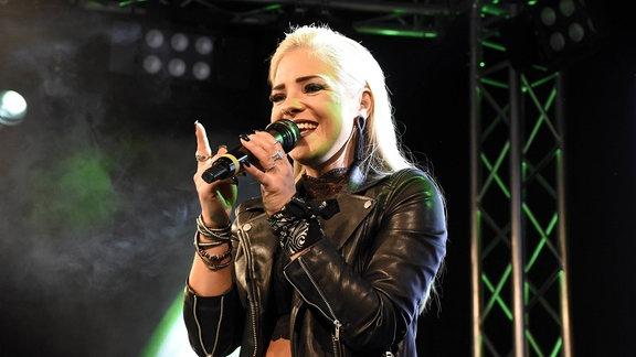 Marina Marx live im Technikum. München, 31.10.2018