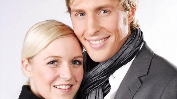 Maxi Arland und seine Frau Andrea.