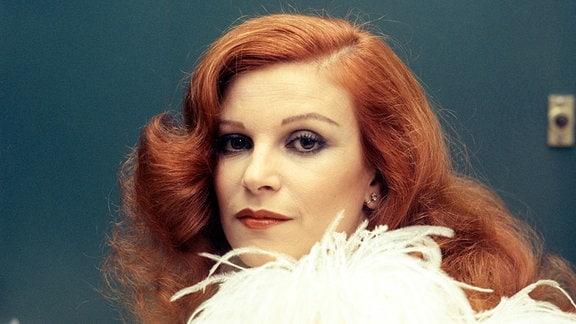 Die Sängerin Milva
