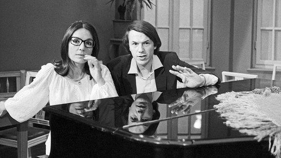 Nana Mouskouri und Salvatore Adamo, 1979