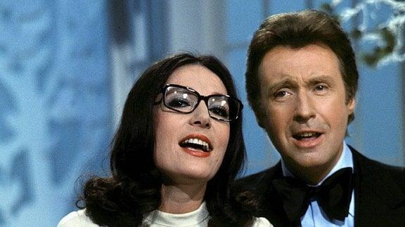 Nana Mouskouri und Peter Alexander, 1975