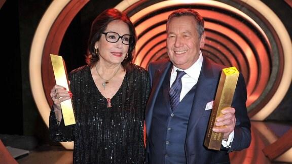 Nana Mouskouri und Roland Kaiser beim Schlagerchampions