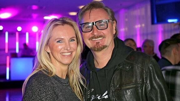 Sänger Nik P. mit seiner neuen Freundin Karin