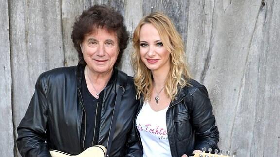 Sänger Olaf der Flipper Malolepski und Sängerin Pia Malo