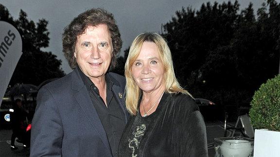 Sänger Olaf Malolepski mit seiner Ehefrau Sonja.