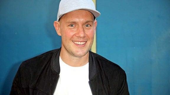 Sänger Oli P während der ARD - Unterhaltungsshow Immer wieder Sonntags am 18.08.2019 im Europapark Rust.