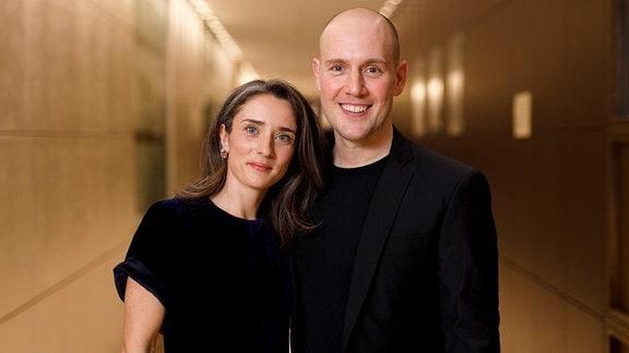Oliver Petszokat mit Ehefrau Pauline