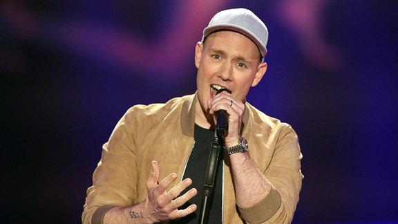 Der Sänger Oli.P